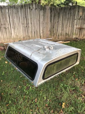 Fiberglass camper shell. 62in x 75in for Sale in Indianapolis, IN
