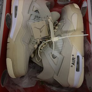 Brand New Off White Jordan 4s Mens 7 = Womens 8.5 for Sale in Murfreesboro, TN