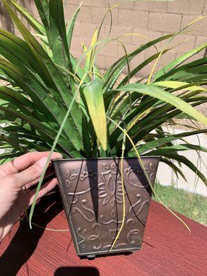Fake plant in metal pot for Sale in Avondale, AZ