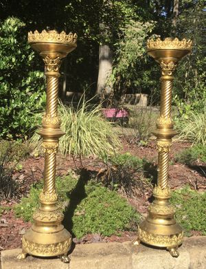 Brass Candelabras from Toledo for Sale in Lake Shore, MD