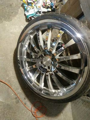 600$ 4 lug 20 inch rims for Sale in Indianapolis, IN