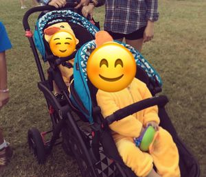 Contours Elite Tandem Double Stroller for Sale in Sun City, TX