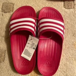 Pink adidas slides for Sale in Rockville, MD