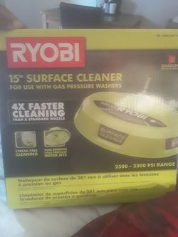 Ryobi surface cleaner for PRESSURE WASHER for Sale in Nashville,  TN