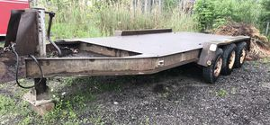 18,000 LB Capacity Open Equipment Trailer for Sale in Cleveland, OH