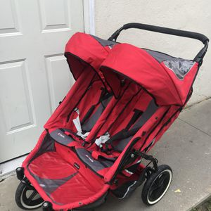 DOUBLE STROLLER PHIL AND TED for Sale in West Carson, CA