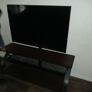 Insignia Tv Maybe 55 Inch With Stand Well Tqken Care Of In Clean House for Sale in Surprise, AZ