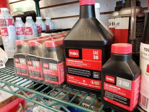 Toro Oil and lubricant for Sale in Itasca, IL