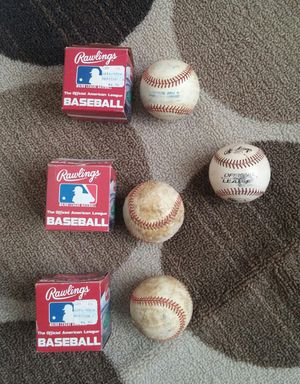 Rawlings American League Used Baseballs for Sale in Montgomery Village, MD