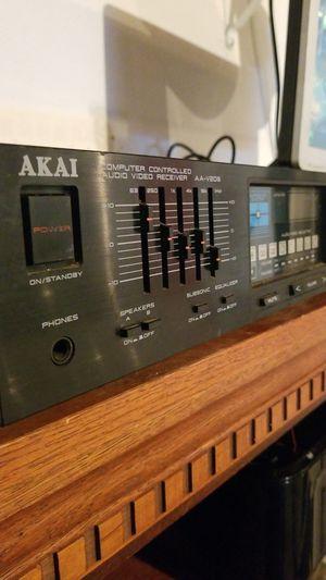 Vintage AKAI computer controlled audio-video receiver for Sale in La Quinta, CA