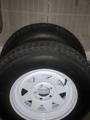 Trailer rim and tire for Sale in Phoenix, AZ