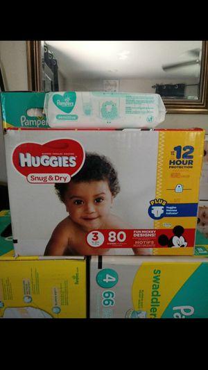 Huggies Snug & Dry Size 3!!READ THE ADDDD❤👶❤ for Sale in Compton, CA