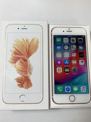 Unlocked iPhone 6S 32GB Rose Gold with Box for Sale in San Jose, CA