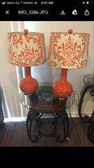 2 lamps for Sale in Pompano Beach, FL