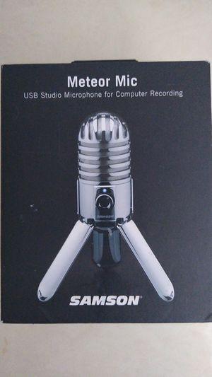 Studio Samson Meteor Mic for Sale in Bristol, CT