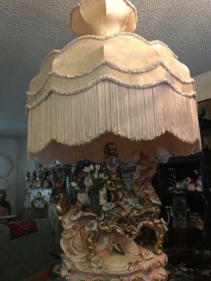Capodimonte lamp for Sale in Cerritos, CA