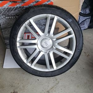 "18"" Audi S4 wheels with tires for Sale in Ocean Shores, WA"