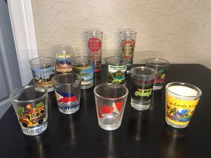 Shot glass collection for Sale in Carson, CA