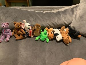 Beanie baby bulk 1993-2000 for Sale in Brook Park, OH