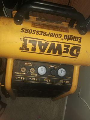 DEWALT air compressor for Sale in Orange, CA