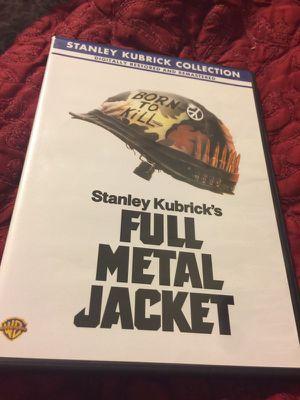 Stanley Kubrick's Full Metal Jacket like new for Sale in Phoenix, AZ