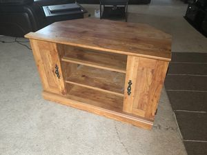Entertainment center wood furniture for Sale in Portland, OR