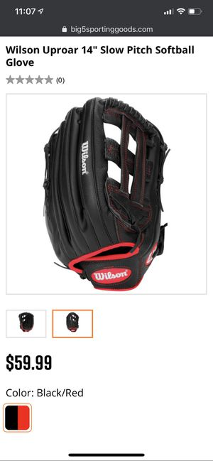 "Wilson Uproar 14"" Slow Pitch Softball Glove for Sale in Glendale, AZ"