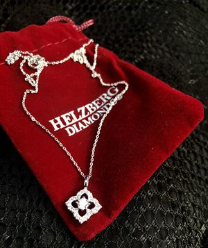 Beautiful & new Sterling silver necklace with pendant for Sale in Sanford, FL