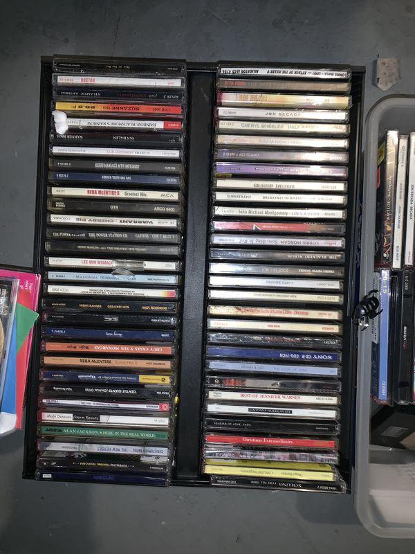 OVER 100 CDS ROCK , POP, HIP HOP , ETC