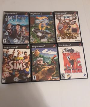 Ps2 games $5 each game for Sale in Houston, TX