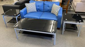 New Coffee Table Set & Loveseat Combo (Finance & Delivery) for Sale in Gardena, CA
