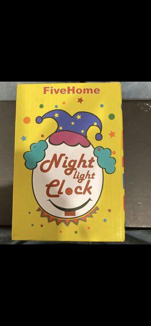 FiveHome Nightlight clock for Sale in Los Angeles, CA