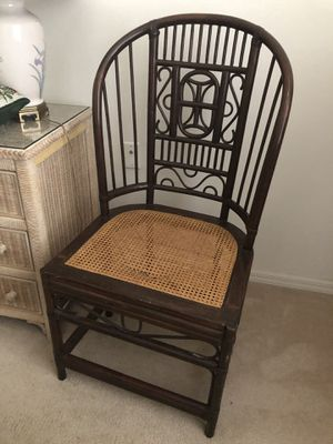 Cane antique chair for Sale in Fort Myers, FL