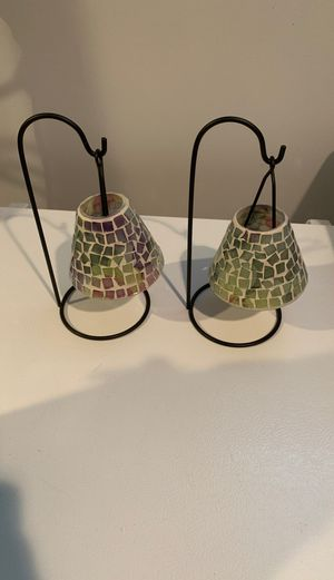 Chandelier tea light candle holders for Sale in Chicago, IL