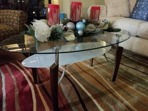 Glass coffee table $65.00 marked down to $45.00 for Sale in St. Louis, MO