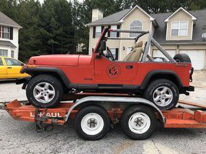 1989 jeep wrangler wrangler for Sale in Lithonia, GA