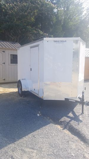 NEW 6 X 10 ENCLOSED TRAILER for Sale in Trinity, NC