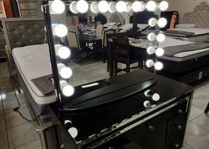 BRAND NEW VANITY MIRROR IMPRESSIONS ONLY ADD MATTRESS AND NEW FURNITURE AVAILABLEdddx for Sale in El Monte, CA