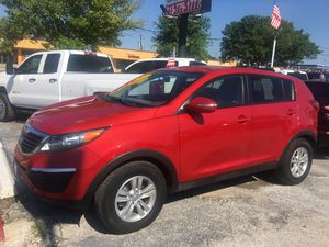 2011 Kia Sportage Red 94 k miles $9995 cash and carry for Sale in Bellaire, TX