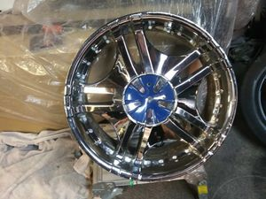 "20"" universal 5 lug rims for Sale in Weston, WI"