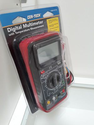 ***\\\ CEN-TECH | DIGITAL MULTIMETER with TEMPERATURE MEASUREMENT ///*** for Sale in San Diego, CA