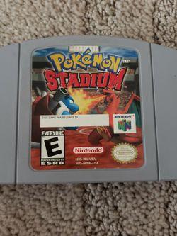 Pokemon Stadium N64 for Sale in Downey,  CA