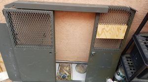 Cargo van cage from police van still works gate closes. for Sale in Tracy, CA