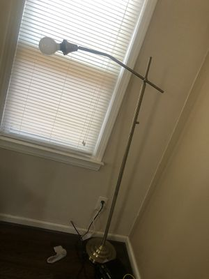Gold floor lamp for Sale in Detroit, MI