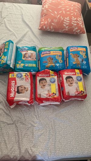 Diapers brand new, one bag is opened but untouched for Sale in Colma, CA