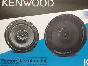 Car speakers : KENWOOD 6.5 inch 2 way 320 watts car speakers for Sale in Bell Gardens, CA