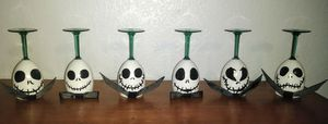 Nightmare before Christmas candle holders for Sale in Victorville, CA
