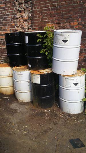 55 Gallon Metal Burn Barrels for Sale in Detroit, MI