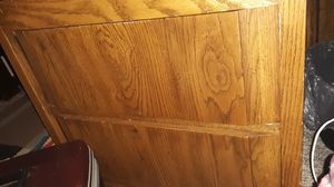 "2 drawer end table ""heavy wood"" for Sale in Wichita, KS"