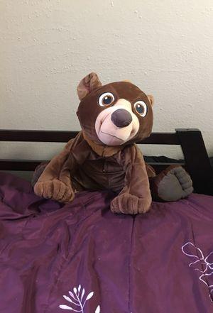 Talking brother bear stuffed animal Walt Disney for Sale in San Antonio, TX